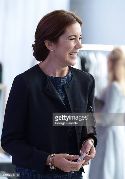 Crown Princess Mary Of Denmark attends official visit to Canada Day 2 on September 18 2014 in Toronto Canada