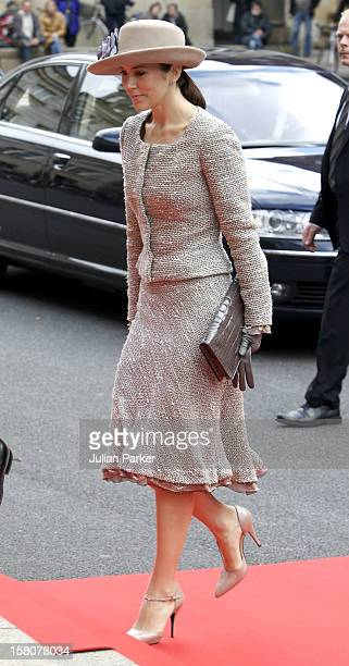 Crown Princess Mary Of Denmark Attends The Opening Of The Danish Parliament At Christiansborg Palace In Copenhagen