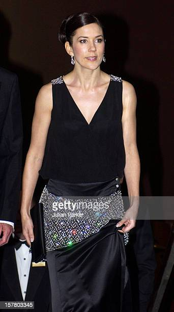 Crown Princess Mary Of Denmark Attends The Victor Chang Ball At The Sofitel Wentworth Hotel Sydney During A 2Week Visit To Australia With Crown...
