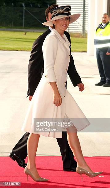 Crown Princess Mary Of Denmark Meets Luiz Inacio Lula Da Silva The President Of Brazil And His Wife Lula Da Silva At Copenhagen Airport During The...