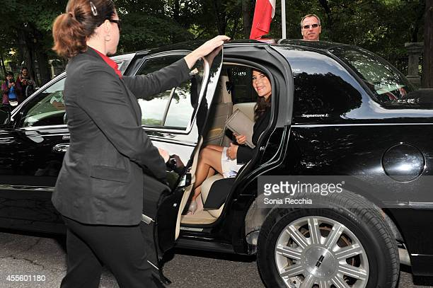 Crown Princess Mary Of Denmark Official Visit To Canada Day 1 on September 17 2014 in Ottawa Canada