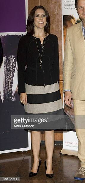 Crown Princess Mary Of Denmark On A Four Day Visit To New YorkVisit A Design Conference At The Hilton Hotel