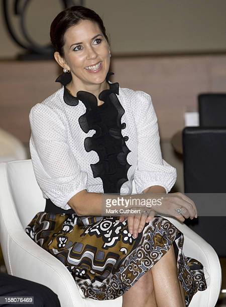 Crown Princess Mary Of Denmark On A Four Day Visit To New YorkVisit To The Bononcept Furniture Shop