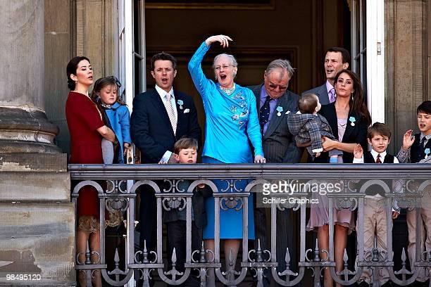 Crown Princess Mary of Denmark Princess Isabella of Denmark Crown Prince Frederik of Denmark Prince Christian of Denmark Queen Margrethe of Denmark...