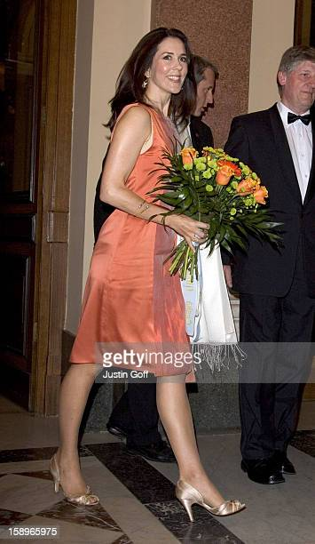 Crown Princess Mary Of Denmark Visits PragueConcert By The Danish National Symphony Orchestra At The Rudolfinum