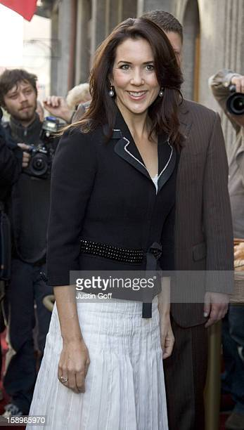 Crown Princess Mary Of Denmark Visits PragueVisit To The Danish Bakery