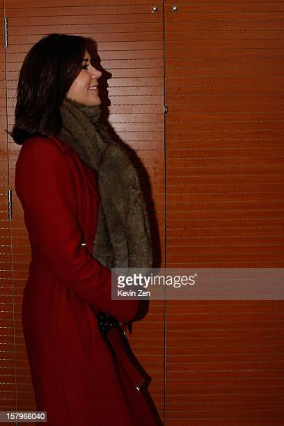 Crown Princess Mary of Denmark visits the LEGO education centre in Chaoyang Park on December 8 2012 in Beijing China
