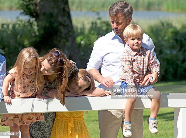 Crown Princess Mary of DenmarkPrincess Josephine of Denmark Princess Isabella of Denmark Crown Prince Frederik of Denmark and Prince Vincent of...