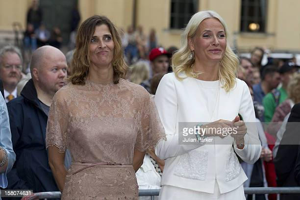 Crown Princess Mette Marit And Princess Rosario Of Bulgaria Attending A Concert To Mark The 10Th Wedding Anniversary Of Crown Prince Haakon And Crown...