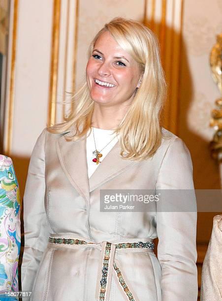 Crown Princess Mette Marit Of Norway At Istana Negara Kuala Lumpur