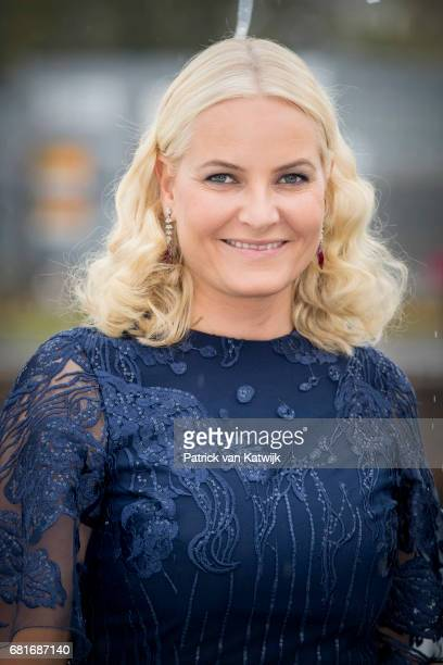 Crown Princess MetteMarit of Norway arrives at the Opera House on the ocassion of the celebration of King Harald and Queen Sonja of Norway 80th...