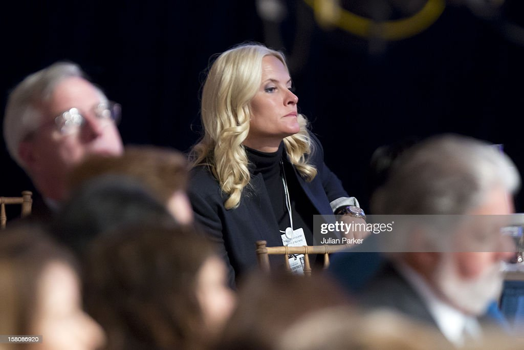 Crown Princess Mette-Marit Of Norway Attending The Clinton Global Initiative, At The Sheraton Hotel And Towers In New York, Usa. .