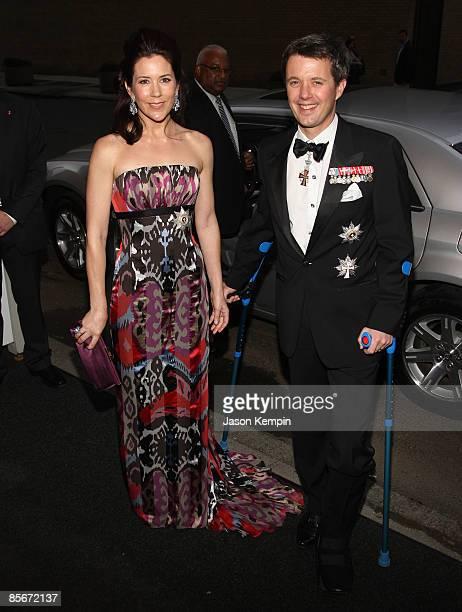 Crown Princess of Denmark Mary Elizabeth Donaldson and Crown Prince Frederik of Denmark Andr Henrik Christian attend the 2009 AmericanScandinavian...