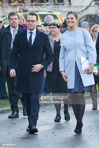 Crown Princess Victoria and Prince Daniel Visit the Varmlandon on November 18 2015 in Varmland Sweden