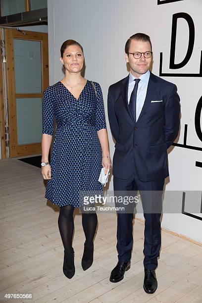Crown Princess Victoria and Prince Daniel Visit Varmland on November 18 2015 in Varmland Sweden