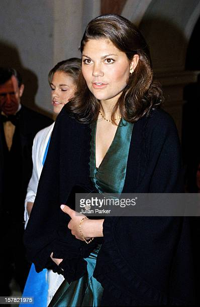 Crown Princess Victoria Attends A Reception At The Swedish Parliament During The Celebrations For King Carl Gustav Of Sweden'S 50Th Birthday