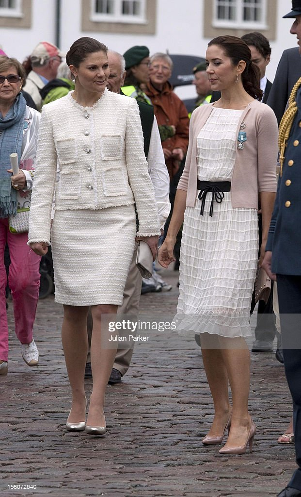 crown-princess-victoria-of-sweden-and-crown-princess-mary-of-denmark-picture-id158072640