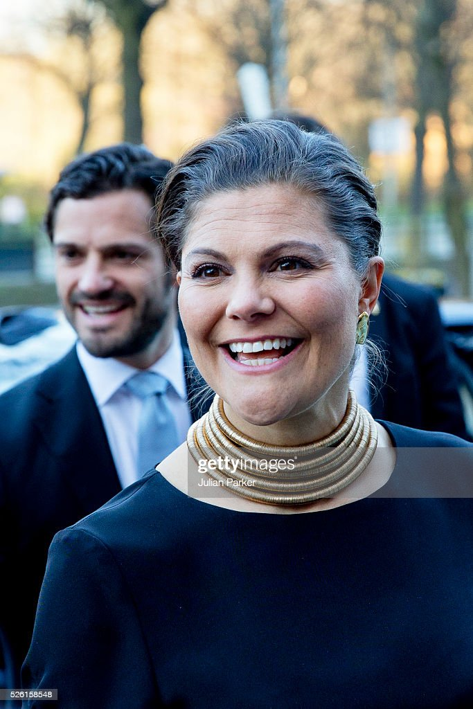 <a gi-track='captionPersonalityLinkClicked' href=/galleries/search?phrase=Crown+Princess+Victoria+of+Sweden&family=editorial&specificpeople=160266 ng-click='$event.stopPropagation()'>Crown Princess Victoria of Sweden</a>, and her brother <a gi-track='captionPersonalityLinkClicked' href=/galleries/search?phrase=Prince+Carl+Philip+of+Sweden&family=editorial&specificpeople=160179 ng-click='$event.stopPropagation()'>Prince Carl Philip of Sweden</a>, arrive for a Concert at the Nordic Museum, on the eve of King Carl Gustaf of Sweden's 70th Birthday, given by The Royal Swedish Opera, and The Stockholm Concert Hall, on April 29, 2016, in Stockholm, Sweden.