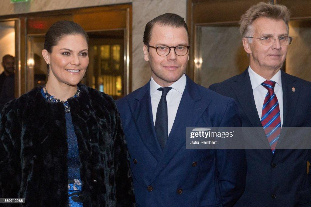 Swedish Royals Attend Gothenburg Symphonic Run's 100th Anniversary