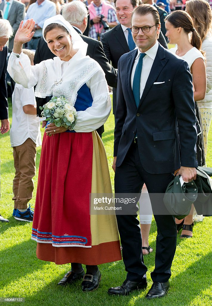 <a gi-track='captionPersonalityLinkClicked' href=/galleries/search?phrase=Crown+Princess+Victoria+of+Sweden&family=editorial&specificpeople=160266 ng-click='$event.stopPropagation()'>Crown Princess Victoria of Sweden</a> and Prince Daniel, Duke of Vastergotland attend a concert at the 38th birthday celebrations for Crown Princess Victoria on July 14, 2015 in Oland, Sweden.