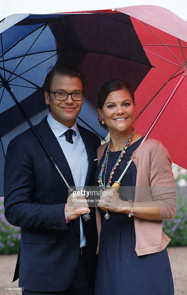Swedish Royal Family Celebrates Crown Princess Victoria's 34th Birthday