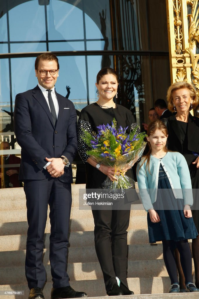 <a gi-track='captionPersonalityLinkClicked' href=/galleries/search?phrase=Crown+Princess+Victoria+of+Sweden&family=editorial&specificpeople=160266 ng-click='$event.stopPropagation()'>Crown Princess Victoria of Sweden</a> and Prince Daniel of Sweden arrive at Le Petit Palais for the Carl Larsson exhibition on March 6, 2014 in Paris, France.