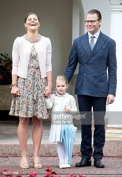 Crown Princess Victoria of Sweden and Prince Daniel of Swedenwith Princess Estelle of Sweden attend the Celebration for The Crown Princess Victoria...