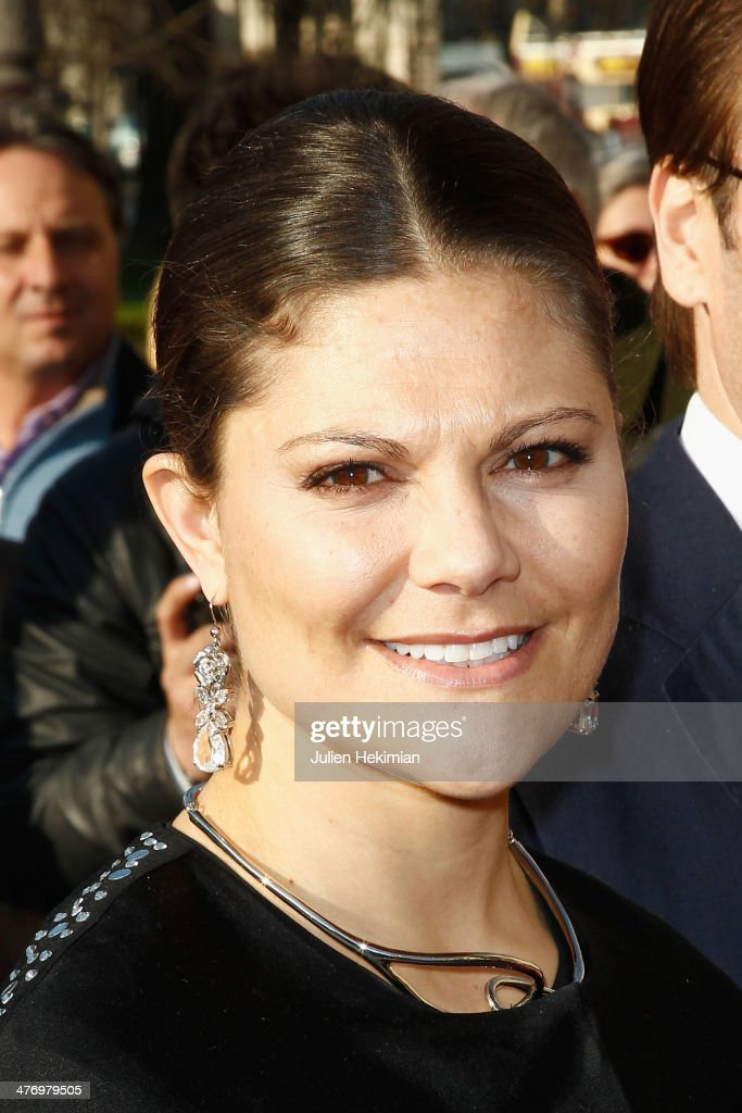 <a gi-track='captionPersonalityLinkClicked' href=/galleries/search?phrase=Crown+Princess+Victoria+of+Sweden&family=editorial&specificpeople=160266 ng-click='$event.stopPropagation()'>Crown Princess Victoria of Sweden</a> arrives at Le Petit Palais for the Carl Larsson exhibition on March 6, 2014 in Paris, France.