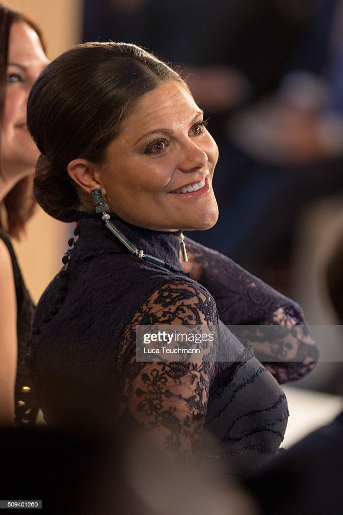 <a gi-track='captionPersonalityLinkClicked' href=/galleries/search?phrase=Crown+Princess+Victoria+of+Sweden&family=editorial&specificpeople=160266 ng-click='$event.stopPropagation()'>Crown Princess Victoria of Sweden</a> attends Global Change Award 2016 at the Stockholm city hall on February 10, 2016 in Stockholm, Sweden.
