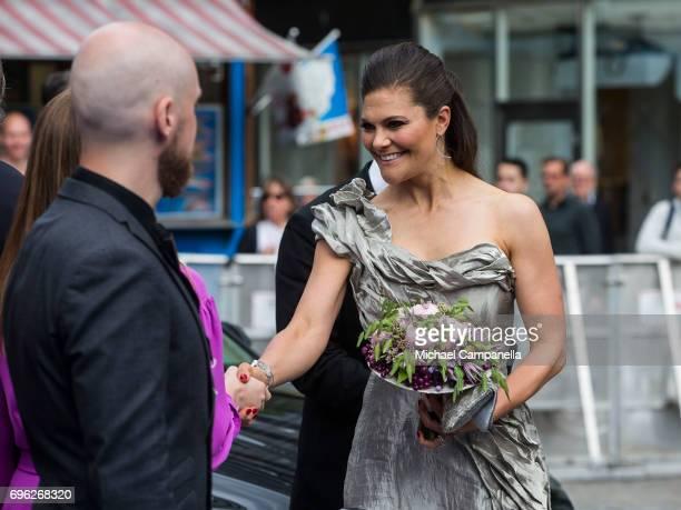 Crown Princess Victoria of Sweden attends Polar Music Prize on June 15 2017 in Stockholm Sweden