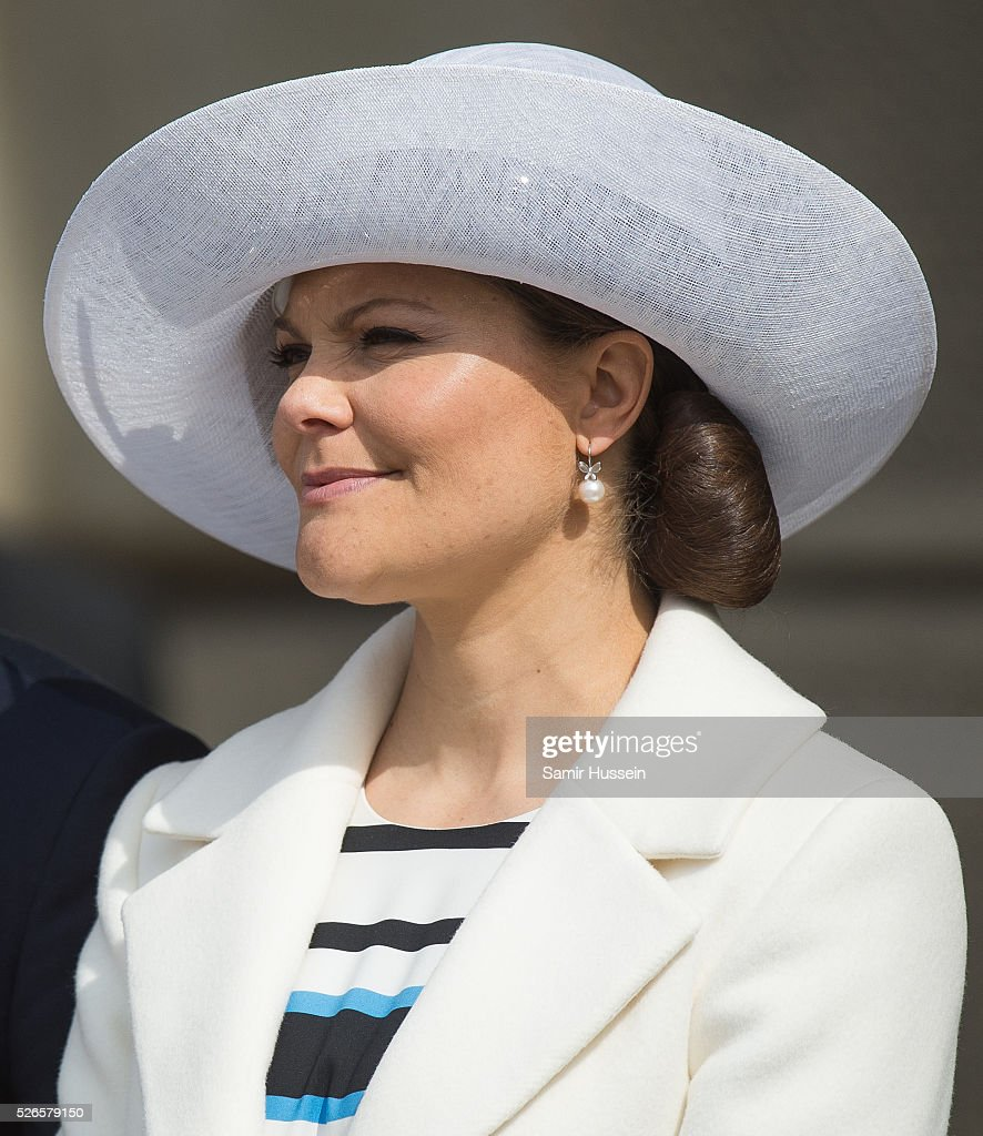 <a gi-track='captionPersonalityLinkClicked' href=/galleries/search?phrase=Crown+Princess+Victoria+of+Sweden&family=editorial&specificpeople=160266 ng-click='$event.stopPropagation()'>Crown Princess Victoria of Sweden</a> attends the celebrations of the Swedish Armed Forces for the 70th birthday of King Carl Gustaf of Sweden on April 30, 2016 in Stockholm, Sweden.