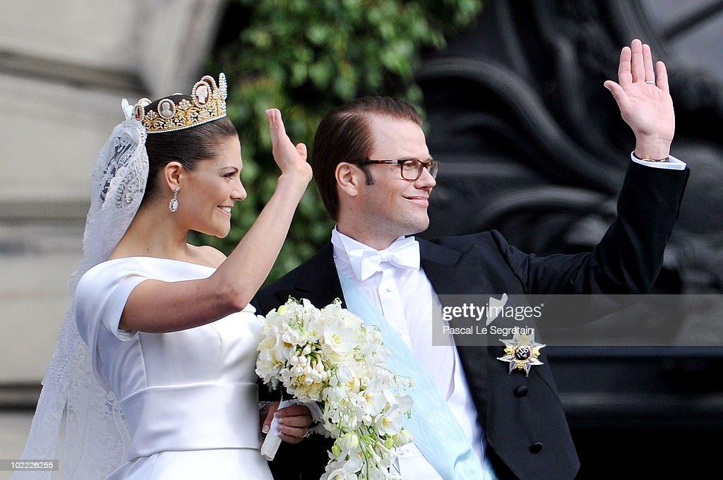 Crown Princess Victoria Of Sweden Ss Västergötland And Her Husband Prince Daniel