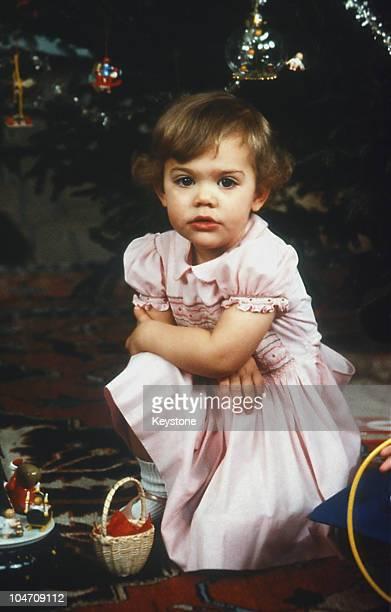 Crown Princess Victoria of Sweden in December 1979