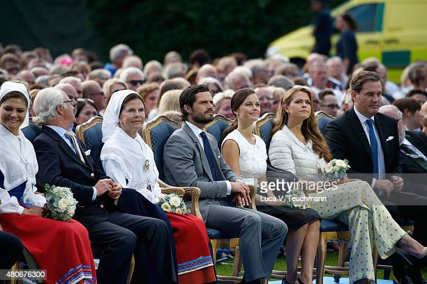 Crown Princess Victoria of Sweden King Carl XVI Gustaf of Sweden Queen Silvia of Sweden Princess Sofia of Sweden Prince Carl Philip of Sweden...