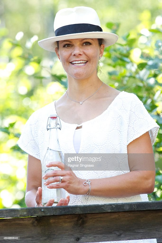 <a gi-track='captionPersonalityLinkClicked' href=/galleries/search?phrase=Crown+Princess+Victoria+of+Sweden&family=editorial&specificpeople=160266 ng-click='$event.stopPropagation()'>Crown Princess Victoria of Sweden</a> takes part in Climate Pilgrimage on August 22, 2015 in Halden, Norway.