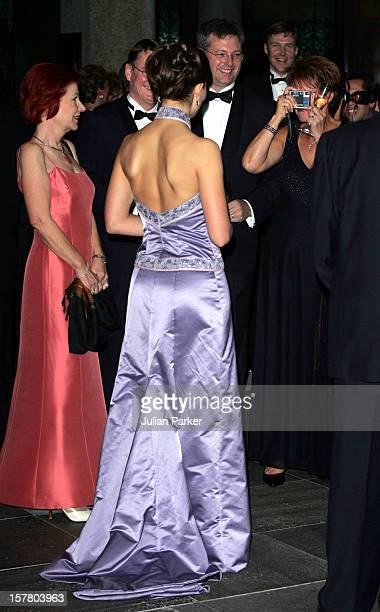 Crown Princess Victoria Of Sweden Visits AustraliaRoyal Gala Dinner At The National Gallery Of Victoria Melbourne