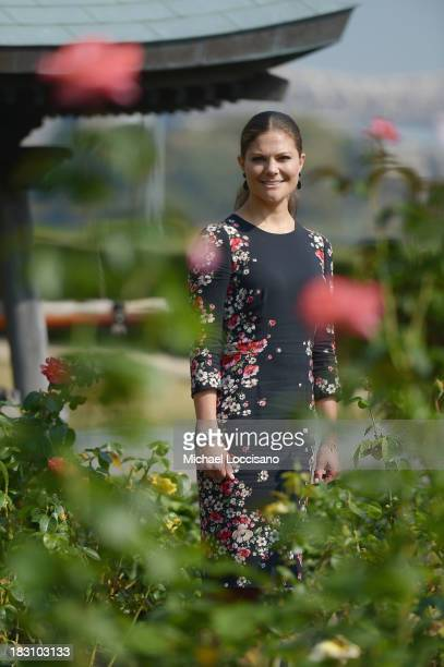 Crown Princess Victoria of Sweden visits The United Nations at the United Nations on October 4 2013 in New York City