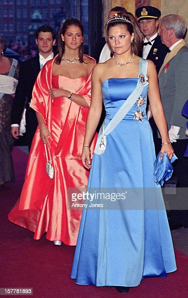 Crown Princess Victoria Prince Carl Philip Princess Madeleine Of Sweden Attend Queen Margrethe Ii Of Denmark'S 60Th Birthday Celebrations In...