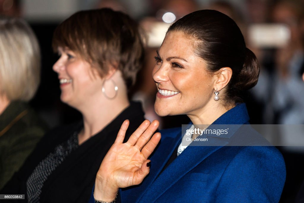 Crown Princess Victoria Attends 'Life Below Water 2017'