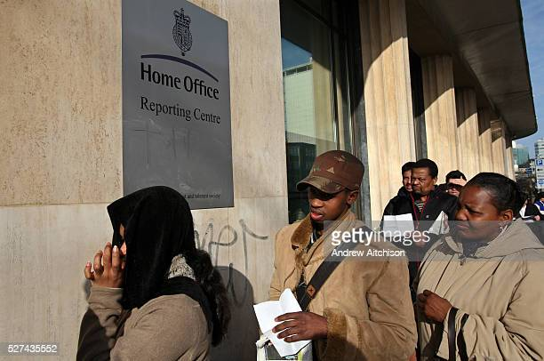 Croydon Home Office which houses the headquarters of the Border and Immigration Agency Electric House is the regional Reporting Centre where people...