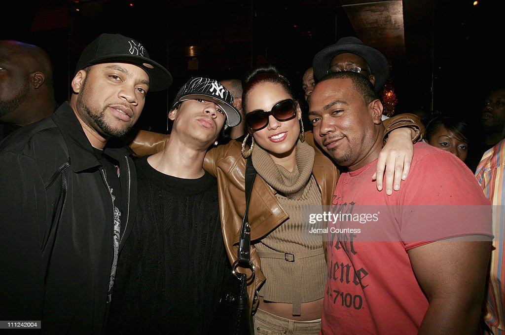 Timbaland's Super Birthday Bash at The Cherry Lounge