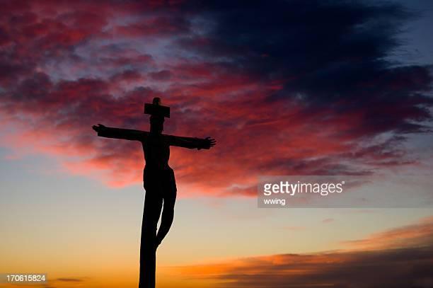 Crucifix and Sunrise