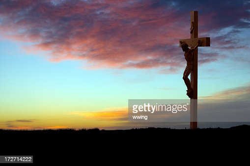 Crucifix at Sunrise