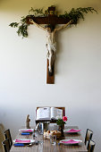 Crucifix in St. Francois de Sales Monastery Dining Hall