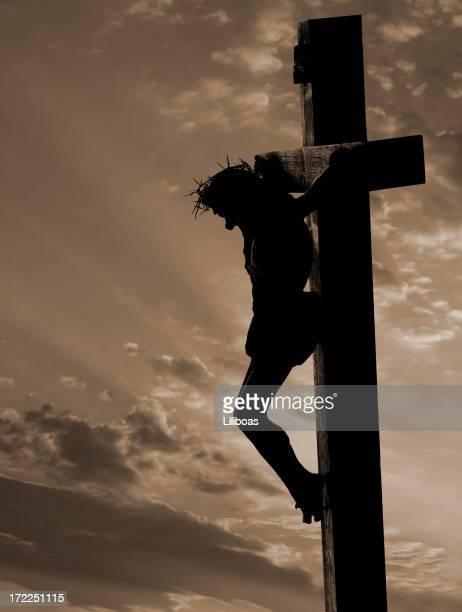 Crucifix (with copyspace)