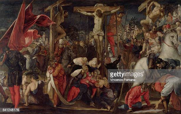 Crucifixion by Jacopo Robusti Tintoretto
