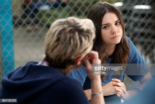 THE FOSTERS 'Cruel and Unusual' Things go from bad to worse for Callie when she turns down a guard's offer to 'party' on an allnew episode of 'The...