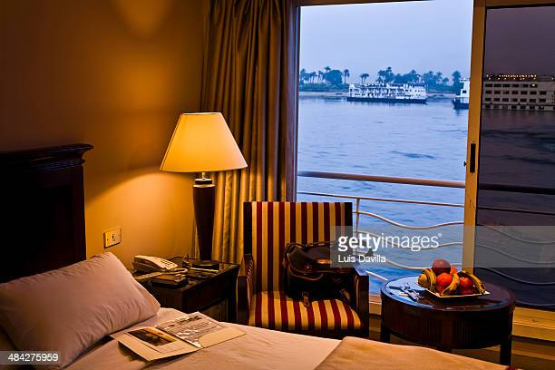cruise in nile river. egypt