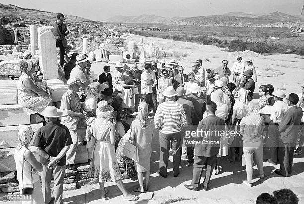 Cruise Of The Cruise Ship Owners Of The International Shipping Corporation On Board Of The 'delos' In Greece 30 mai 1962 A l'occasion d'une croisière...
