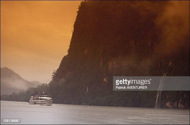 Cruise On The Irrawady River On January 8Th Myanmar The Gorges Near Bhamo